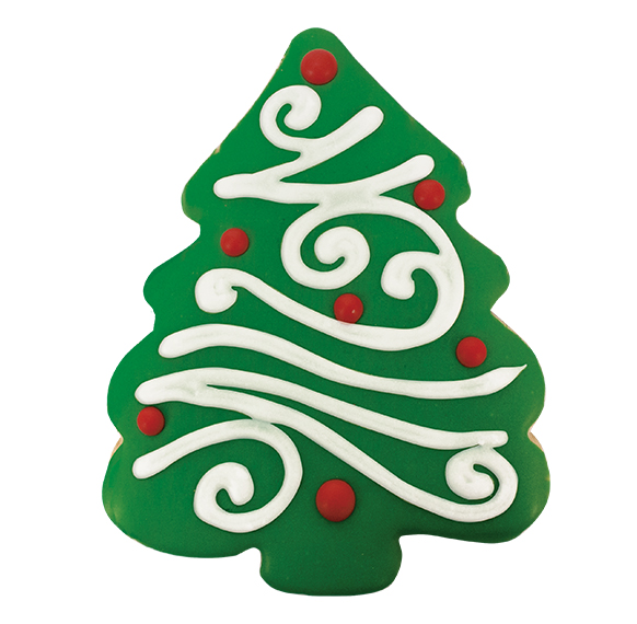 24ct christmas tree decorated cookies 16089 cookies united online store - Christmas Tree Online