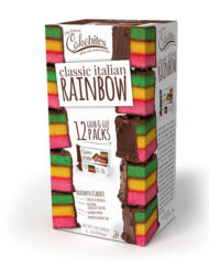 Italian Rainbow Cake Bites - SINGLE 12 ct. Display 19634A - (12) pieces in each display