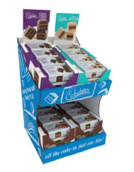 4/12ct Cake Bites 17248 - Includes (4) displays containing (12) pieces in each display