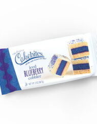 Iced Blueberry Cobbler Cake Bites 12 ct. Displays 17590 - Includes (8) displays containing (12) pieces in each display